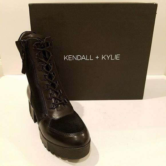 071a59c76 Kendall & Kylie Shoes | Kendall Kylie Nib Phoenix Combat Boots ...